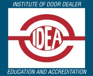 IDEA Certification Lensing Garage Doors